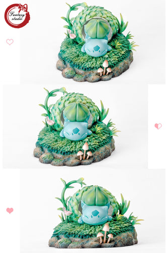 Incubation Bulbasaur - Pokemon Resin Statue - Fantasy Studios [Pre-Order]