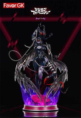 1/4 & 1/7 Scale Lady Devimon with LED - Digimon Resin Statue - Angel-Studio [Pre-Order]