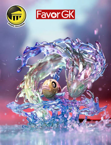 Hidden Power Series The Evolution of Feebas with LED - Pokemon Resin Statue - Moon Shadow Studios [Pre-Order]