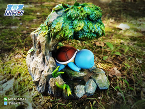 Sleeping Squirtle - Pokemon Resin Statue - PL Studios [In Stock] - FavorGK