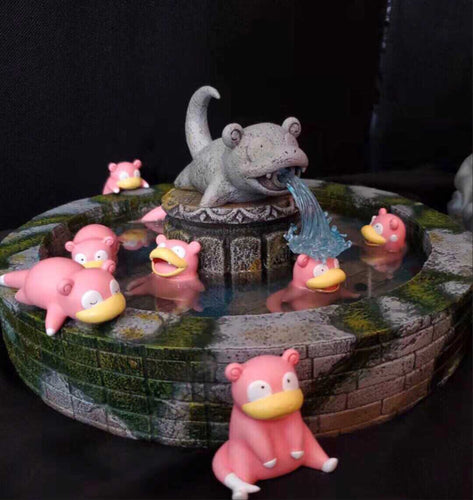 Slowpoke Fountain Private - Private - Pokemon Resin Statue - DS Studios [In Stock] - FavorGK