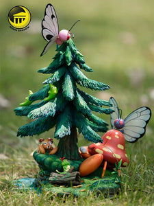 Butterfree Family - Pokemon Resin Statue - Moon shadow Studios [In Stock] - FavorGK