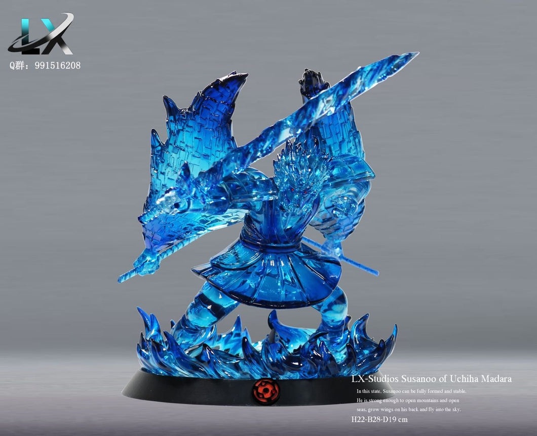 Tempestuous God of Valour/ Susanoon of Uchiha Madara - Naruto Resin Statue - LX Studios [In Stock] - FavorGK