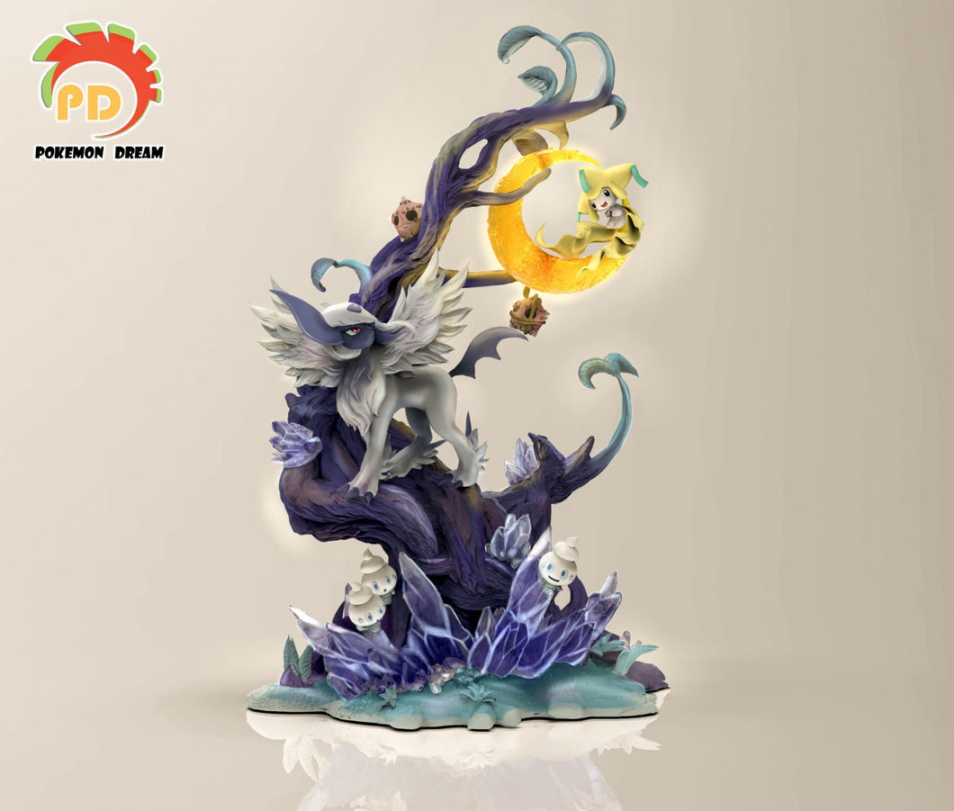 Mega Absol & Jirachi - Private - Pokemon Resin Statue - Pokemon Dream Studios - Pokemon Dream Studios [Pre-Order] - FavorGK