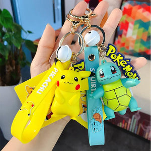 Pikachu/Bulbasaur/Charmander/Squirtle/Psyduck/Jigglypuff - Pokemon Key Chains - Official [In Stock] - FavorGK