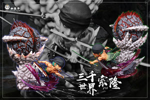SD & WCF Scale Roronoa Zoro - Three Thousand Worlds - ONE PIEResin Statue - Princekin Studio [Pre-Order]