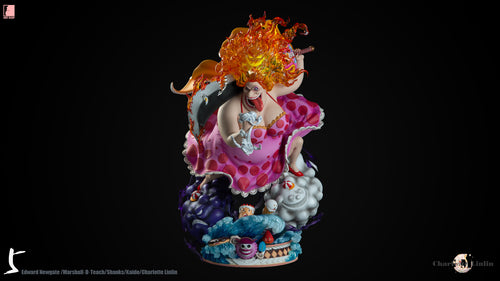 1/4 & 1/6 Scale Charlotte Linlin - ONE PIECE Resin Statue - LAST SLEEP Studios [Pre-Order]