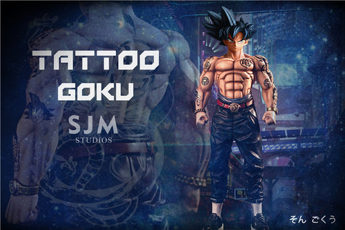 Tattoo Son Goku - Dragon Ball Resin Statue - SJM Studios [Pre-Order]
