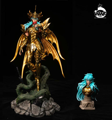 1/6 Scale Pisces / Aphrodite - Soul of gold - Saint Seiya Resin Statue - WWF Studios [Pre-Order]