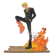 Load image into Gallery viewer, Diable Jambe-Vinsmoke Sanji - ONE PIECE Resin Statue  - BANPRESTO Studios [Pre-Order]