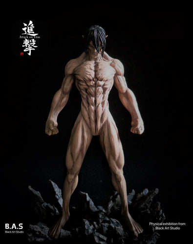 Eren Yeager - Attack on Titan Resin Statue - Black Art Studios [Pre-Order]