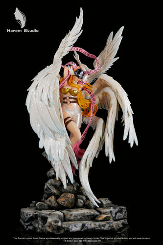 1/6 & 1/4 Scale Angewomon - Digimon Resin Statue - Harem-Studios [Pre-Order]