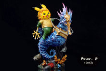 Load image into Gallery viewer, Aquaman Cosplay Pikachu - Pokemon Resin Statue - Peter.P Studios [Pre-Order]