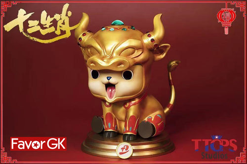 Gold Cow Cosplay Chopper - ONE PIECE Resin Statue - TTCP Studios [Pre-Order]
