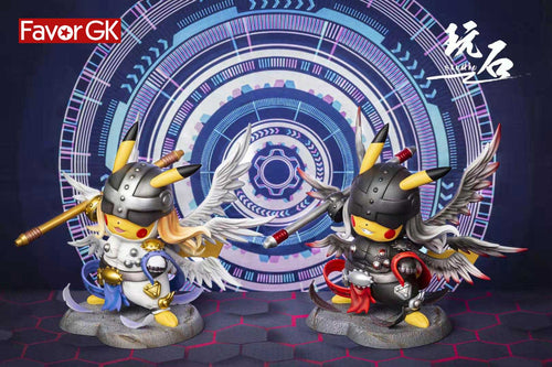 1/3 Scale Angemon Cosplay Pikachu - Digimon Pokemon Resin Statue - WanShi Studio [Pre-Order]