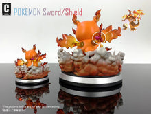Load image into Gallery viewer, 3CM & 8CM Dynamax Charizard Cosplay Pikachu - Pokemon Resin Statue - C Society Studios [Pre-Order] - FavorGK