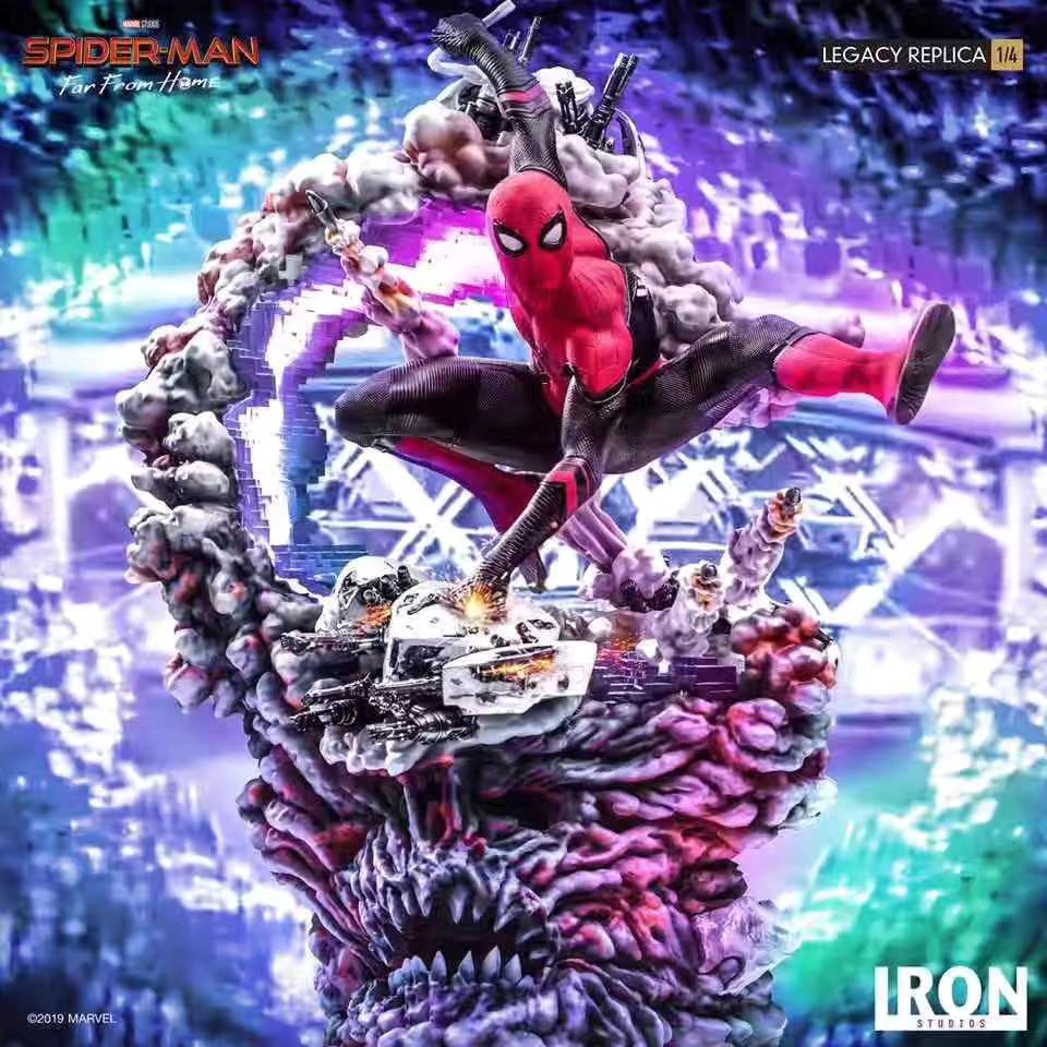 1/4 Scale Spider-Man - Marvel Resin Statue - Iron Studios [Pre-Order] - FavorGK