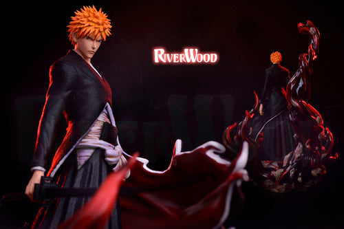 Bankai (卍解) Kurosaki Ichigo - Bleach Resin Statue - RiverWood Studios [Pre-Order] - FavorGK