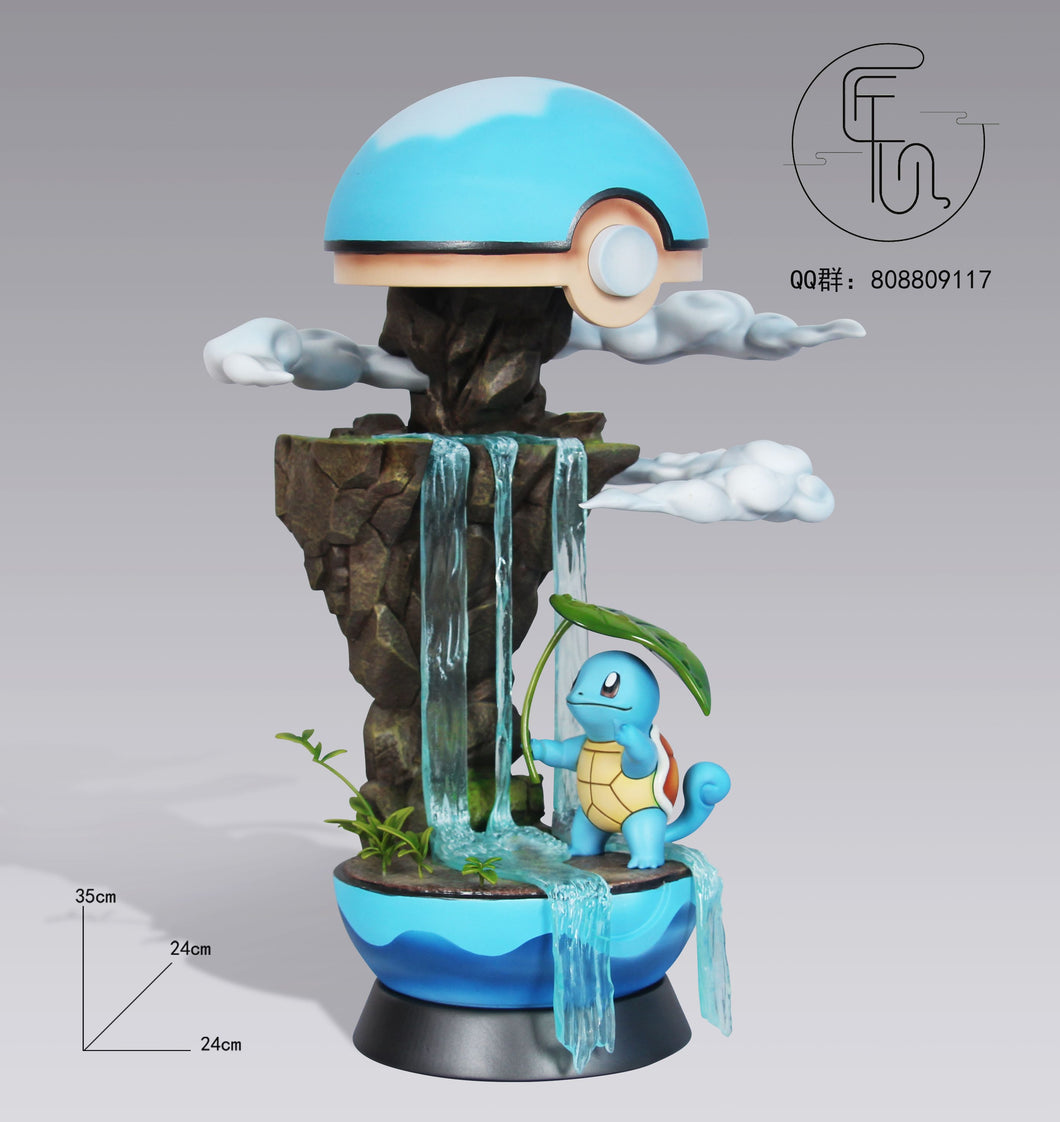 Poké Ball World Squirtle - Pokemon Resin Statue - JX Studios [Pre-Order] - FavorGK