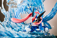 Load image into Gallery viewer, Ash's Greninja - Pokemon Resin Statue - Fantasy Studios [Pre-Order] - FavorGK