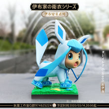 Load image into Gallery viewer, Sylveon/ Vaporeon/ Leafeon/ Glaceon/ Flareon Eevee Cosplay - Pokemon Resin Statue - QY Studios [In Stock] - FavorGK