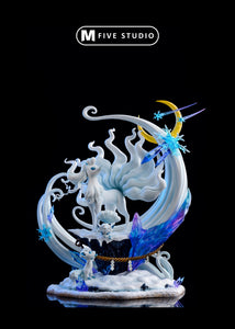 Alolan Ninetales & Vulpix - Private - Pokemon Resin Statue - M5 Studios [Pre-Order] - FavorGK