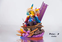 Load image into Gallery viewer, Harley Quinn Cosplay Pikachu - Pokemon Resin Statue - Peter.P Studios [Pre-Order] - FavorGK