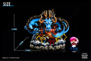Kaido - ONE PIECE Resin Statue - YZ Studios [Pre-Order] - FavorGK