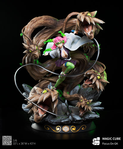 1/6 Scale Kanroji Mitsuri - Demon Slayer: Kimetsu no Yaiba Resin Statue - Magic Cube Studios [Pre-Order] - FavorGK