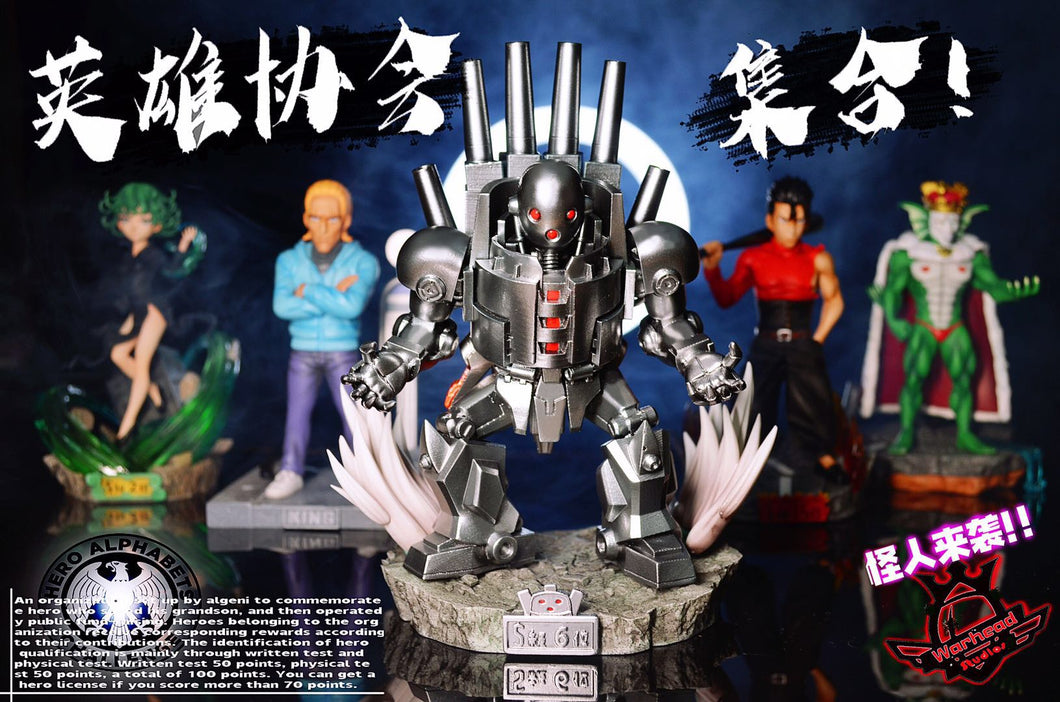 DR. Bofoy/ Metal Knight - One Punch-Man Resin Statue - Warhead Studios[Pre-Order] - FavorGK