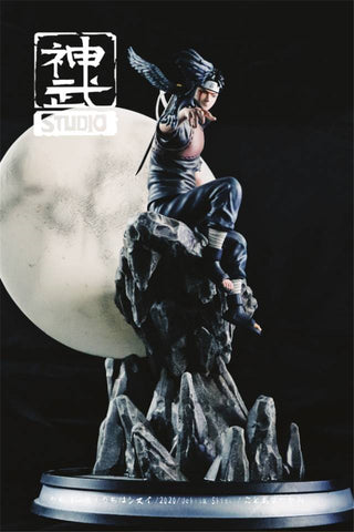 Crazy Studio Uchiha Shisui Resin Model Painted Statue Led Stand Pre-order 26cm