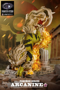 Arcanine - Pokemon Resin Statue - Monster Studios [Pre-Order] - FavorGK
