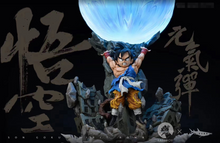 Load image into Gallery viewer, Son Goku Spirit Bomb - Dragon Ball Resin Statue - FATTBOY Studios x DAYU Studios [Pre-Order] - FavorGK