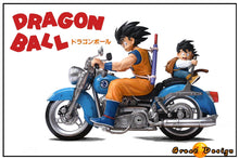 Load image into Gallery viewer, Motorcycle Son Goku & Son Gohan - Dragon Ball Resin Statue - GD Studios [Pre-Order] - FavorGK