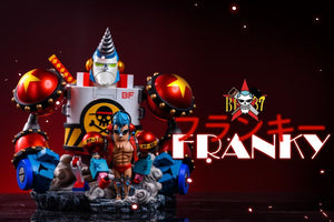 General FRANKY BF-38 - ONE PIECE Resin Statue - LeaGue Studios [Pre-Order] - FavorGK