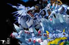 Load image into Gallery viewer, Garurumon & Ishida Yamato - Digimon Resin Statue - BDW Studios [Pre-Order] - FavorGK