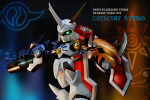 Royal Knights Omegamon - Digimon x Medabots Resin Statue - Crescent Studios [Pre-Order] - FavorGK
