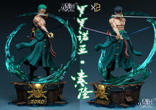 Load image into Gallery viewer, 1/4 & 1/6 Scale Nine People Group Roronoa Zoro - ONE PIECE Resin Statue - Soul Studios [Pre-Order] - FavorGK