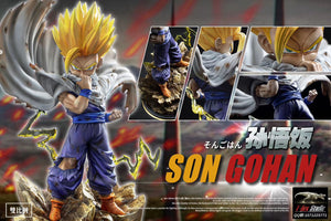 WCF Scale Super Saiyan Son Gohan - Dragon Ball Resin Statue - T-Rex Studios [Pre-Order]