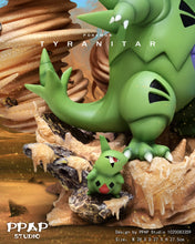 Load image into Gallery viewer, Tyranitar Family - Pokemon Resin Statue - PPAP Studios [Pre-Order]