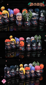 Mini Akatsuki Group - Naruto Resin Statue - DEM Studios [Pre-Order]