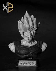 Super Saiyan God Son Goku - Dragon Ball Resin Statue - XS Studios [Pre-Order]