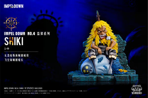 Shiki the Golden Lion - ONE PIECE Resin Statue - YZ Studios [Pre-Order]