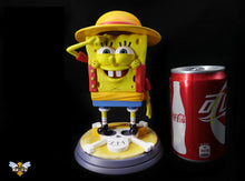 Load image into Gallery viewer, 1:1 Scale Monkey D. Luffy Cosplay SpongeBob - SpongeBob SquarePants Resin Statue - WASP Studios [Pre-Order]