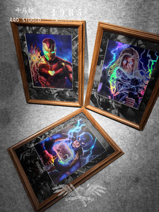 Decorative Paint of Thor, Iron Man & Captain America - DC - BBD Studio [Pre-Order]
