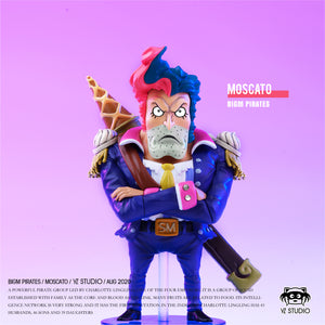 Charlotte Moscato, Minister of Gelato - ONE PIECE Resin Statue - YZ Studios [Pre-Order]