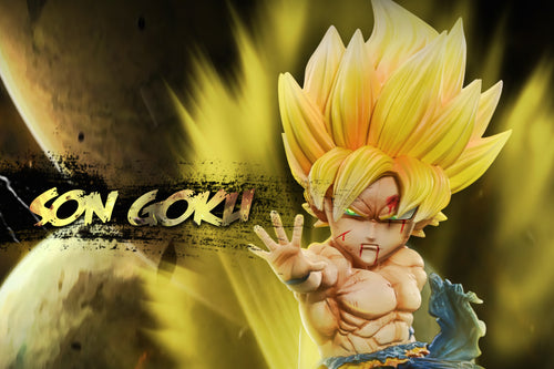 Super Saiyan 1 Son Goku - Dragon Ball Resin Statue - G-5 Studios [Pre-Order]