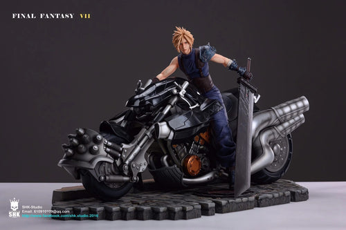 1/4 Scale Realistic Series Cloud Strife - (FF7) Final Fantasy VII Resin Statue - SHK Studios [Pre-Order]