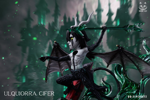 WCF Scale Ulquiorra Cifer - Bleach Resin Statue - Weird Cat Studios [Pre-Order]