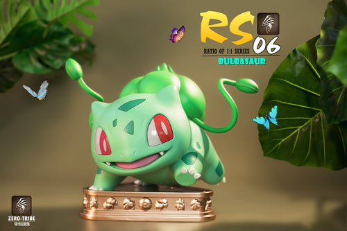 1:1 Scale Bulbasaur - Pokemon Resin Statue - Zero-Tribe Studios [Pre-Order]